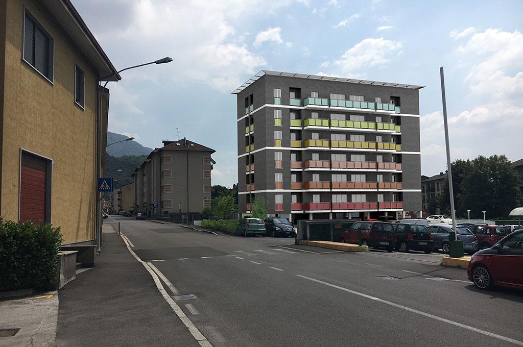 Lecco (Lc) - Via Risorgimento, anno 2020